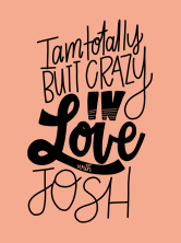"""I am totally butt crazy in love with Josh."" #cluelessincursive"